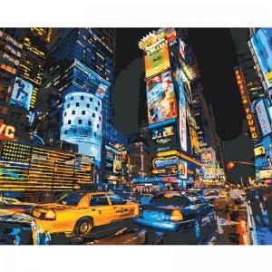 Картина по номерам Идейка 40*50 см По улицам Нью-Йорка 2 (КНО2185)