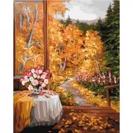 Картина по номерам Идейка 40*50 см Волшебный запах осени (КНО2242)