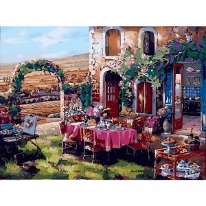 Картина по номерам Идейка 40*50 см Жизнь в Провансе (КНО2245)