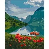 Картина по номерам Идейка 40*50 см Красота Норвегии (КНО2256)