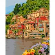 Картина по номерам Идейка 40*50 см Набережная Италии (КНО2259)