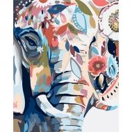Картина по номерам Идейка 40*50 см Восточные краски (КНО2470)