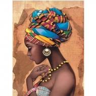 Картина по номерам Идейка 35*50 см Жемчужина Африки (КНО2625)