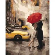 Картина по номерам Идейка 40*50 см Последний поцелуй (КНО2657)