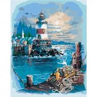Картина по номерам Идейка 40*50 см Тихая гавань 2 (КНО2724)