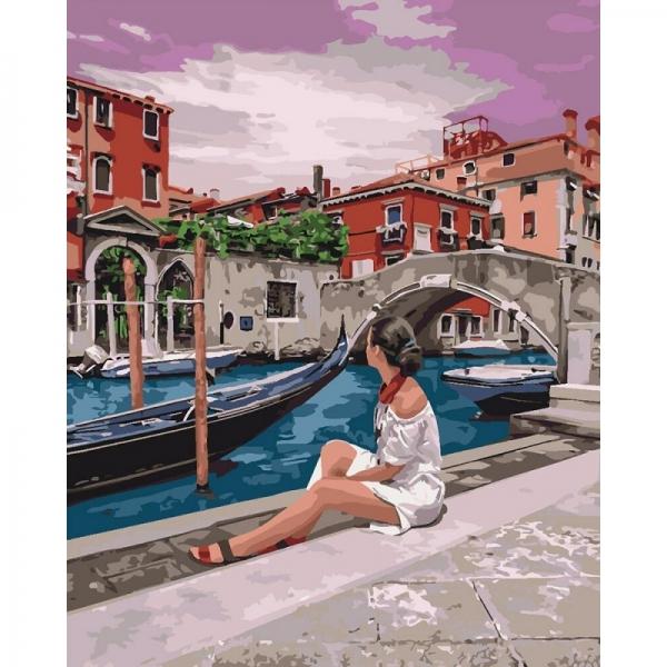 """Картина по номерам Идейка 40х50см """"Удивительная Венеция"""""""