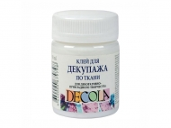 Клей для декупажа по ткани DECOLA 50 мл