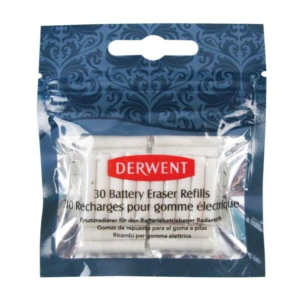 Запасные ластики для электрического ластика Derwent, 30 шт.
