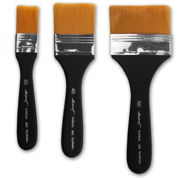 Кисть флейц синтетическая Monet 340 ArtWork