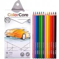 Карандаши цветные ColorCore 12 цветов + 1 графитный HB