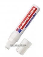 Маркер меловой Edding 4090 4-15 мм, белый