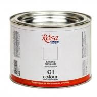 Краска масляная Rosa Studio 490 мл Белая титановая