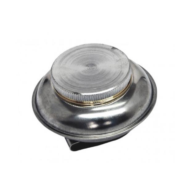 Масленка художественная одинарная металлическая с крышкой (6 см)