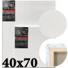 Холст на подрамнике Monet итальянский хлопок 320 г/м2 среднее зерно 40*70 см (MN4070)