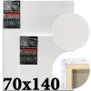 Холст на подрамнике Monet итальянский хлопок 320 г/м2 среднее зерно 70*140 см