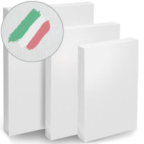 Холсты Monet на подрамнике, среднее зерно, итальянский хлопок 320 г/м в ассортименте