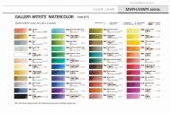 Набор акварели MUNGYO GALLERY в металлическом пенале, 12 цветов