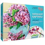 """Картина по номерам """"Цветы весны"""" 35*45 см"""