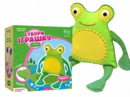 Набор игрушка из фетра лягушка Фрогги