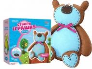 Набор игрушка из фетра медвежонок Брауни