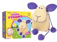 Набор игрушка из фетра овечка Флаффи