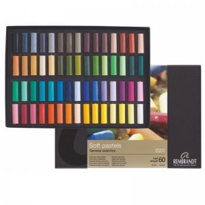 Набор сухой пастели Rembrandt 1/2 мягкой пастели 60 цветов