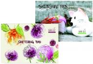 Склейка для эскизов и рисунка For Creation  А4, 120г/м2, 48л, Smiltainis