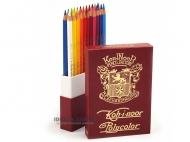 Набор художественных карандашей Polycolor Retro в подарочном кейсе, 24 цвета