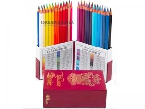Набор художественных карандашей Polycolor Retro в подарочном кейсе, 48 цветов