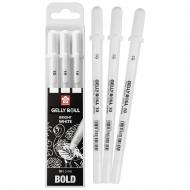 Набор белых гелевых ручек Gelly Roll 3 штуки (0.5мм) в блистере