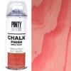 Краска-аэрозоль на водной основе Красный вельвет (804) 400мл Chalk-finish PINTYPLUS