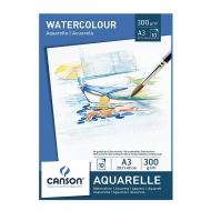 Блок бумаги для акварели Watercolour 300 гр, 14*21 см 10 листов А5
