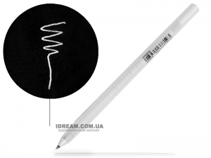 Ручка гелевая Sakura Gelly Roll, Белая
