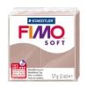 Полимерная глина (пластика) Fimo Soft, 57г, Серо-коричневая