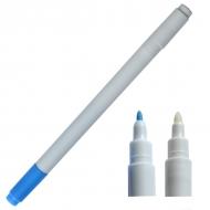 Маркер смываемый для разметки ткани двухсторонний голубой