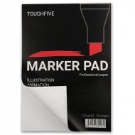 Альбом A4 для маркеров Touch Five PAD 120 г/м2 20л
