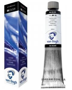 Краска масляная Van Gogh 200 ml, Белила титановые