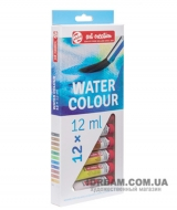 Набор акварельных красок 12 цветов Art Creation в тубах 12 мл