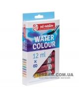Набор акварельных красок 8 цветов Art Creation в тубах 12 мл