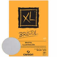 Canson альбом с гладкой бумагой, XL Bristol 180 гр, A4 (50)