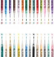 Универсальный акриловый маркер, толщин линии 0.7 мм, 24 цвета в ассортименте