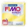 Полимерная глина (пластика) Fimo Effect, 57г, Желтая лимонная